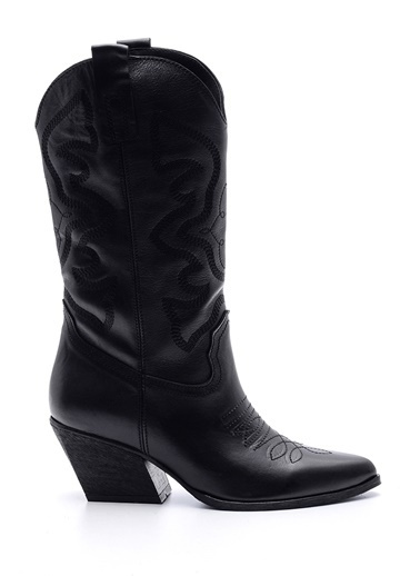 Derimod Kovboy Çizmesi Siyah